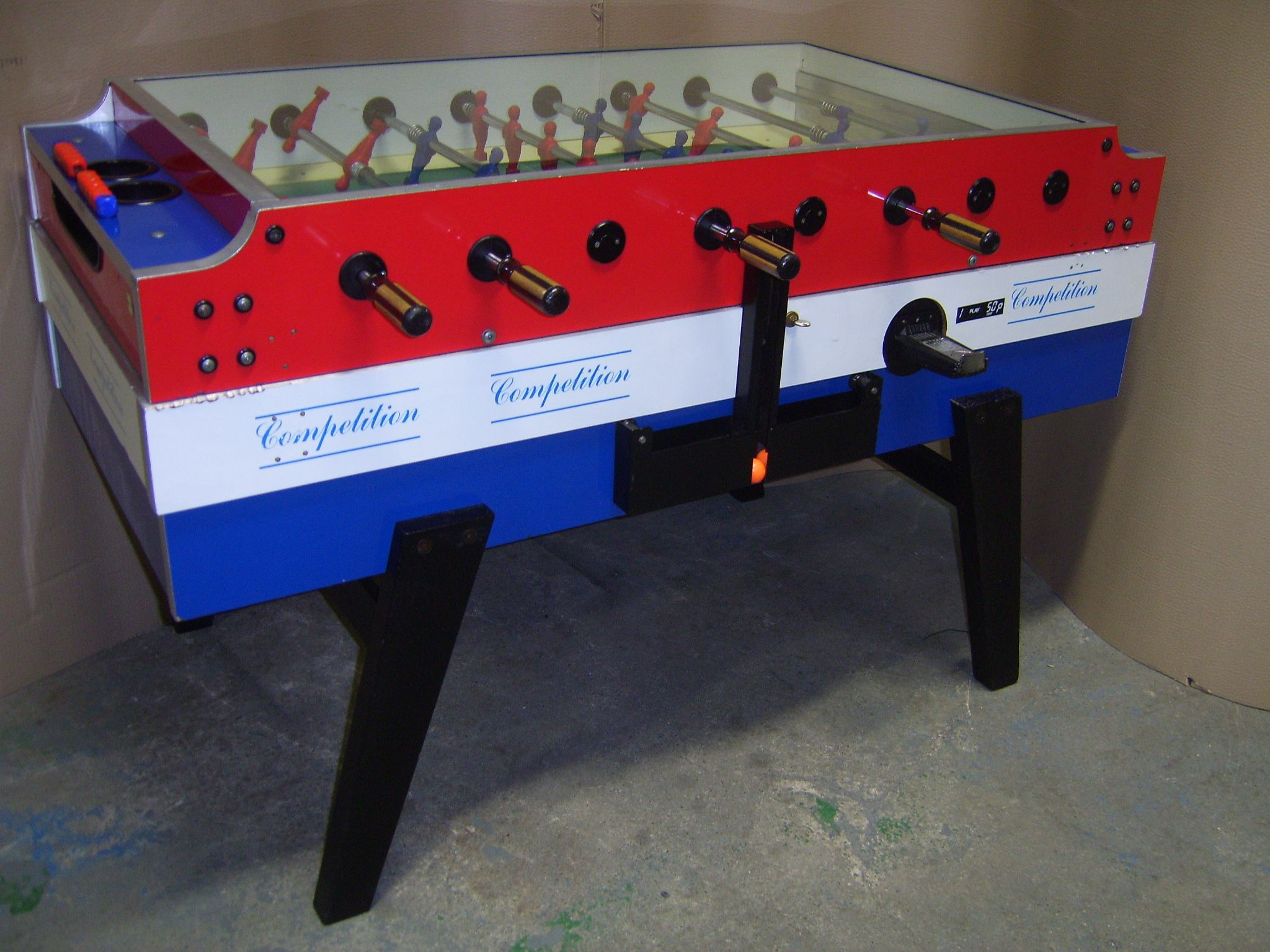 Genuine Italian Garlando Competition Football Foosball Table Coin - Italian foosball table