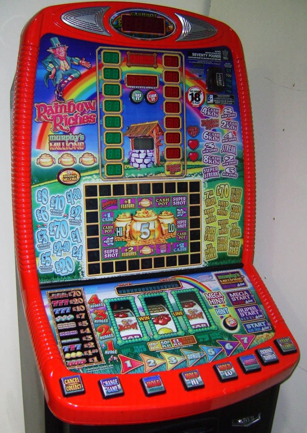 Rainbow Riches Fruit Machine