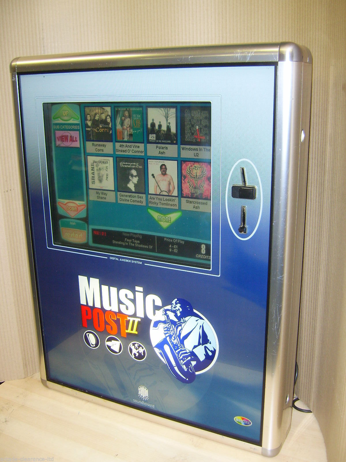 Music Post 2 Digital Jukebox Rps 5000 Commercial Use