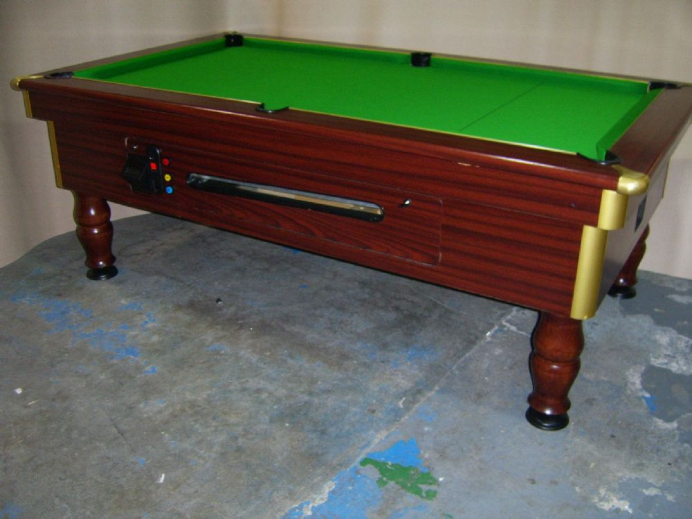 Regent freeplay 7x4 slate bed pub pool table for Pool table 6 x 3
