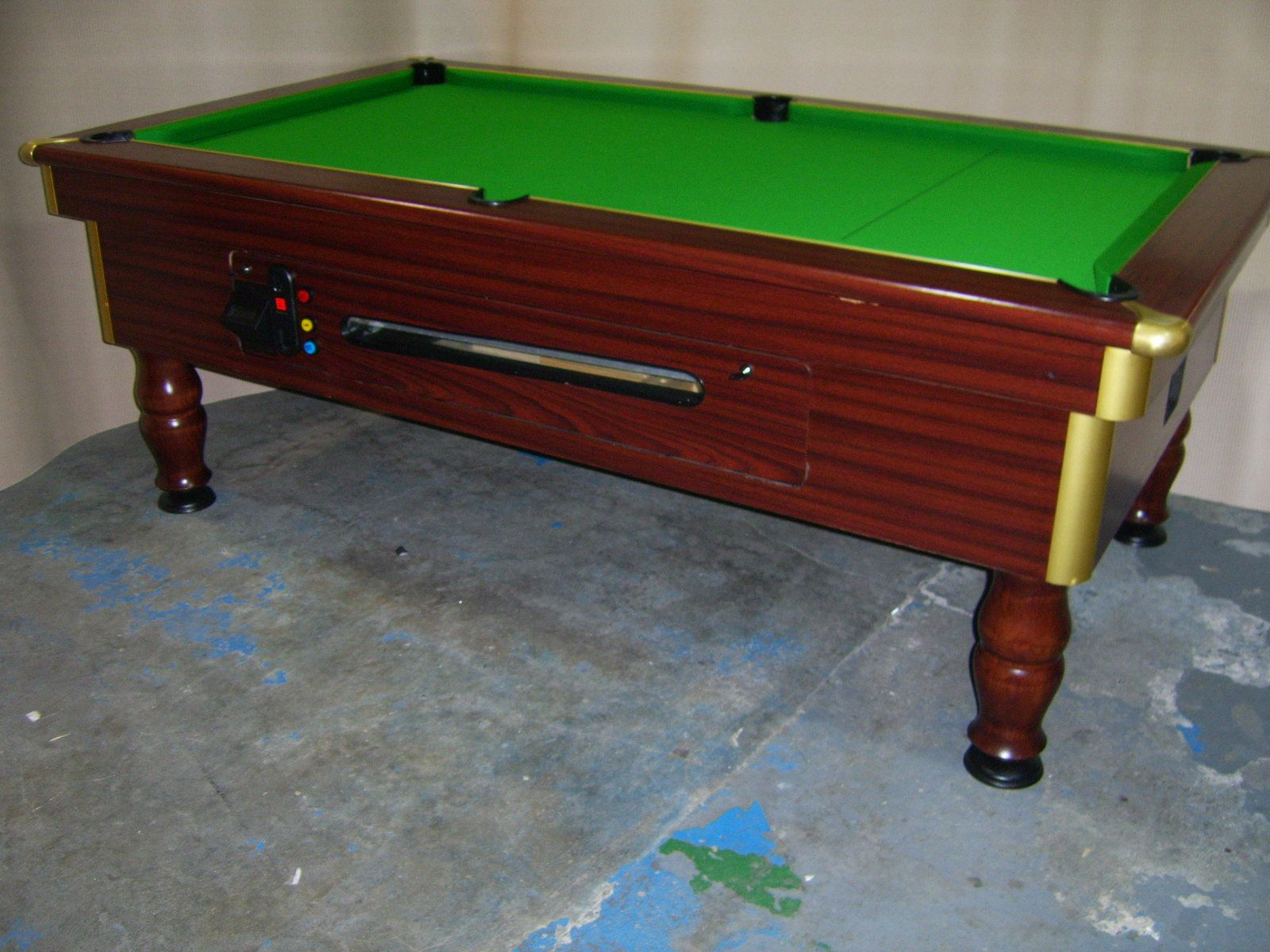 Regent Freeplay X Slate Bed Pub Pool Table - Regent pool table