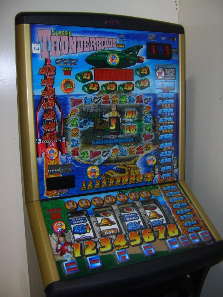 Thunderbirds Club 75 Jackpot Fruit Machine